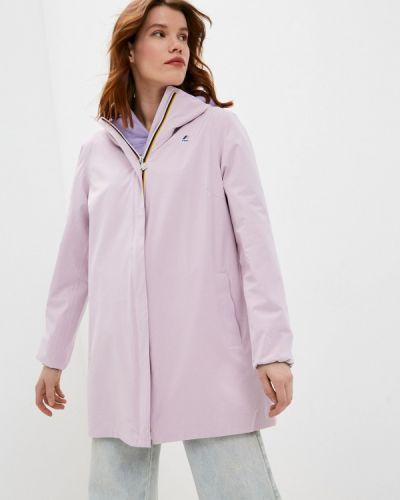Облегченная розовая куртка K-way