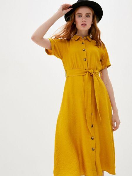 Платье платье-рубашка весеннее Defacto