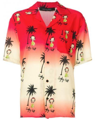 Классическая рубашка на пуговицах с лебяжьим пухом Garcons Infideles