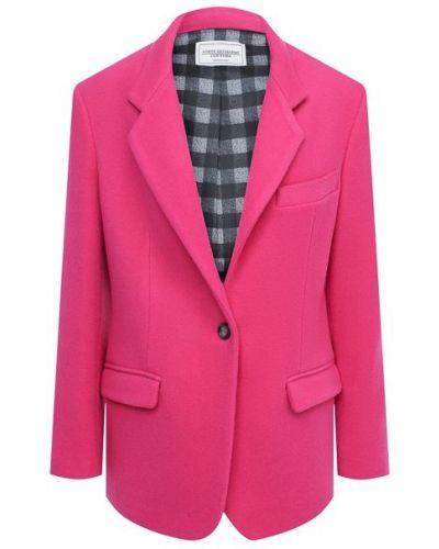 Розовый шерстяной пиджак с подкладкой Forte Dei Marmi Couture