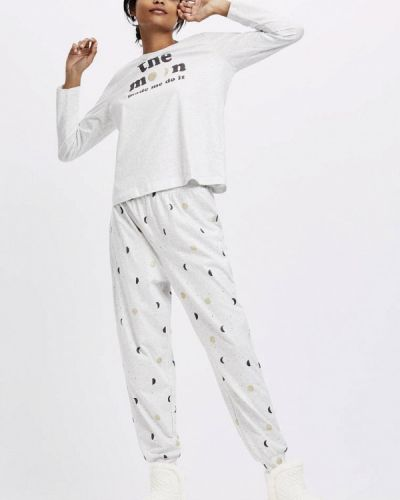 Пижама - серая Oysho
