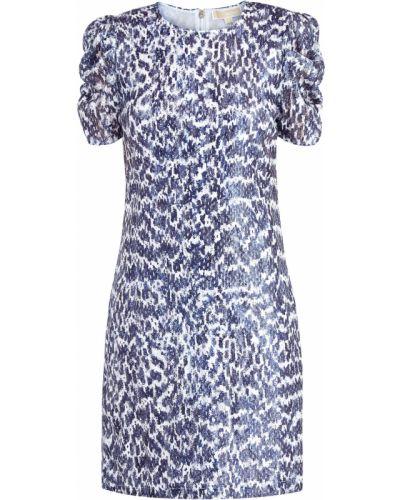 Платье мини винтажная на молнии Michael Michael Kors