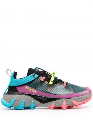Кожаные кроссовки - синие Li-ning