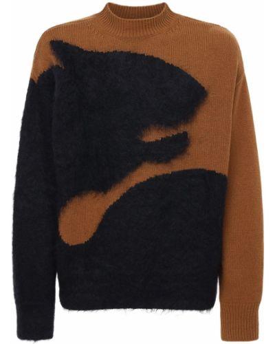 Brązowy sweter Kenzo