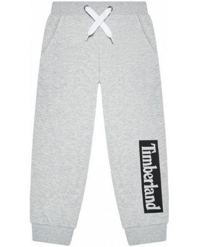 Szare spodnie dresowe Timberland