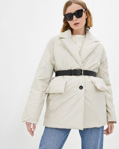 Бежевая демисезонная куртка Fresh Cotton