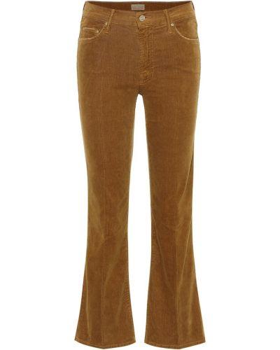 Укороченные джинсы винтажные mom Mother