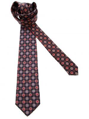 Синий галстук с рисунком Pierre Cardin Pre-owned