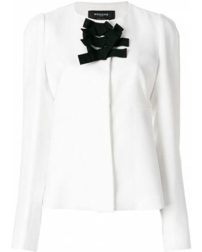 Пиджак приталенный с бантом Rochas