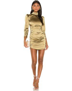Sukienka mini z suwakiem zielona Camila Coelho