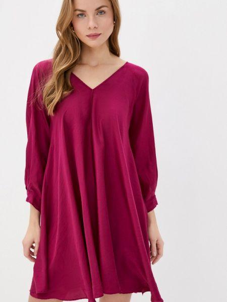 Повседневное платье бордовый красный Forte Forte