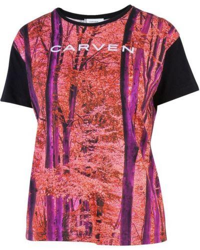 Różowa t-shirt Carven