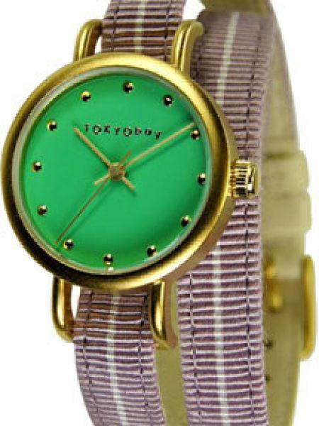 Текстильные кварцевые часы с подкладкой Tokyobay