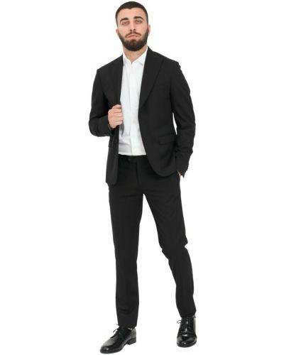 Czarny garnitur Alessandro Dell'acqua
