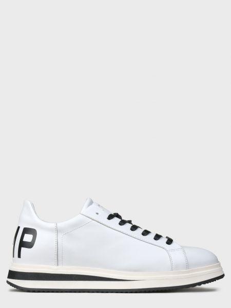 Кожаные кеды - белые Philippe Model