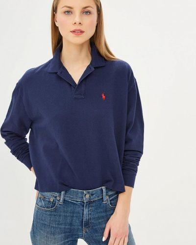 Синее поло Polo Ralph Lauren