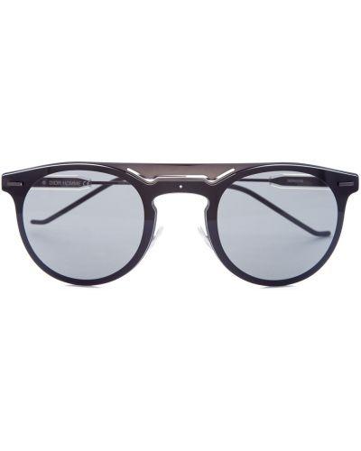 Солнцезащитные очки стеклянные круглые Dior (sunglasses) Men