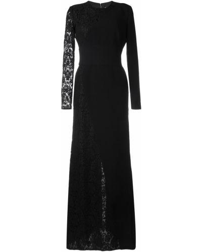 Платье со вставками шелковое Fausto Puglisi