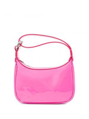 Różowa torebka skórzana Eera