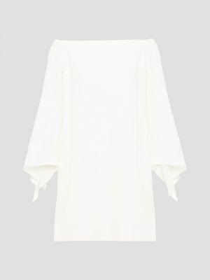 Biała sukienka mini Tibi