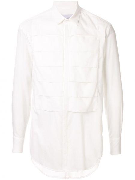 Плиссированная классическая рубашка Strateas Carlucci