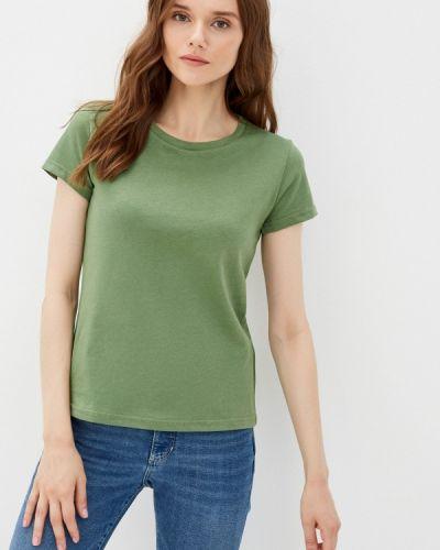 Зеленая футболка с короткими рукавами D.s