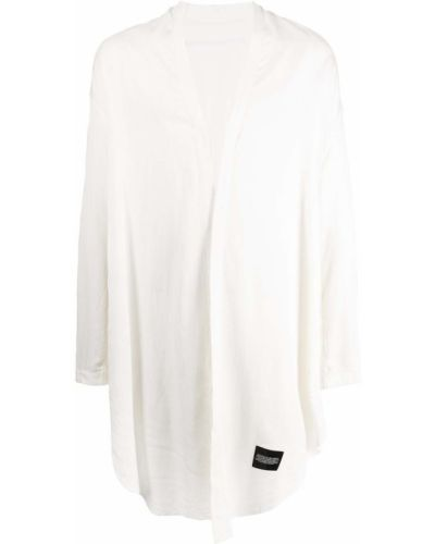 Biała biała koszula z długimi rękawami Julius