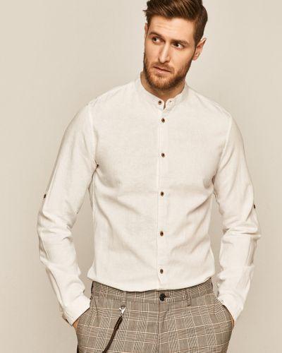 Базовая хлопковая белая рубашка Medicine