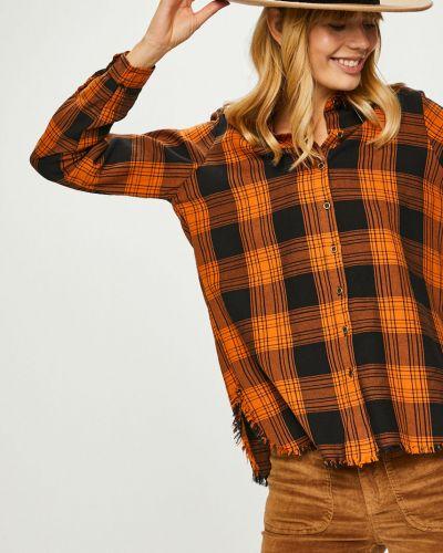 Блузка с длинным рукавом оверсайз в клетку Answear