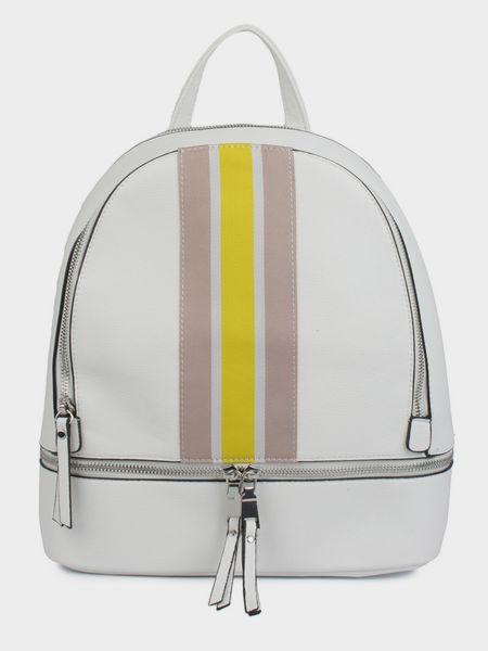 Кожаный рюкзак - белый Ara