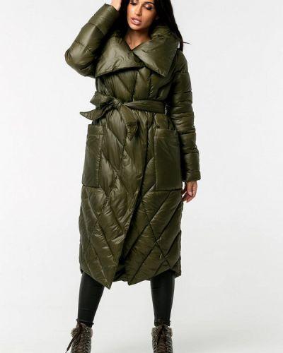 Зеленая теплая зимняя куртка Whitefox