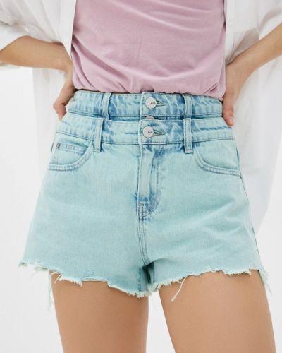 Бирюзовые джинсовые шорты Miss Sixty