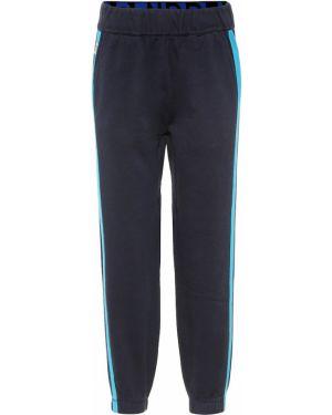 Spodnie bawełniane - niebieskie Lndr
