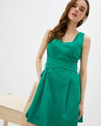 Платье - зеленое Naf Naf