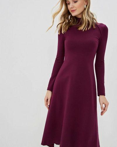 Платье прямое фиолетовый Olga Skazkina