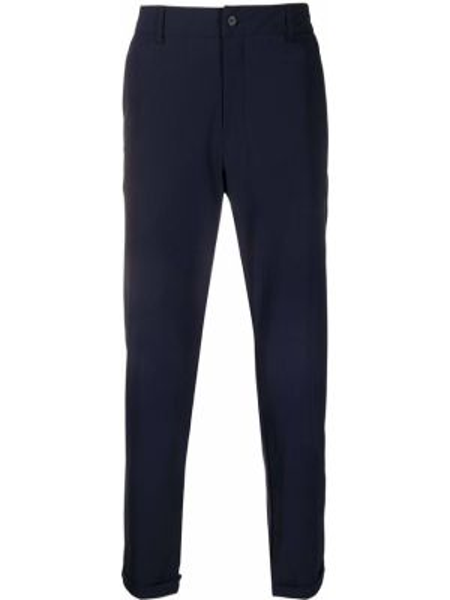 Klasyczne niebieskie spodnie klasyczne z paskiem Hydrogen