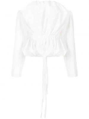 Хлопковая блузка - белая Christopher Esber