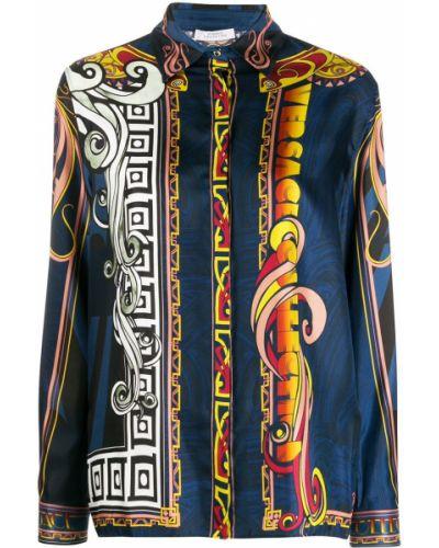 Классическая рубашка на пуговицах Versace Collection