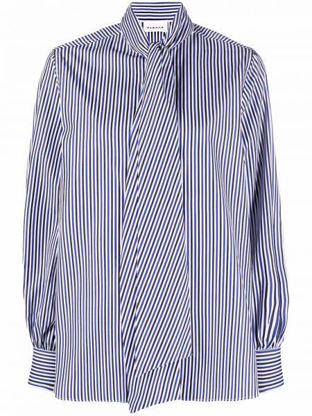 Синяя хлопковая рубашка P.a.r.o.s.h.