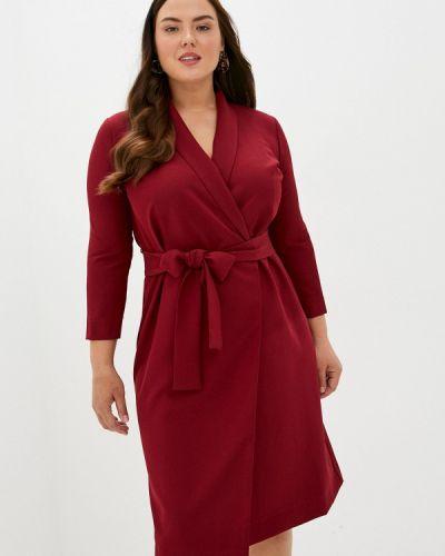 Красное платье с запахом Trendyangel