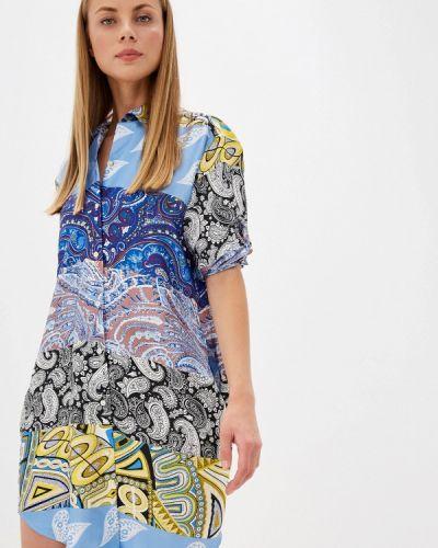 Платье платье-рубашка осеннее Soky & Soka