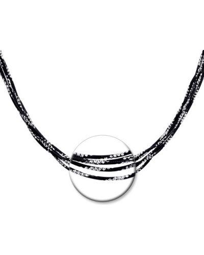 Цепочка из серебра черный серебряный Sokolov