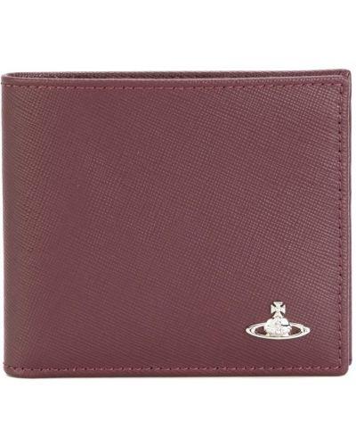 Красный кожаный кошелек Vivienne Westwood