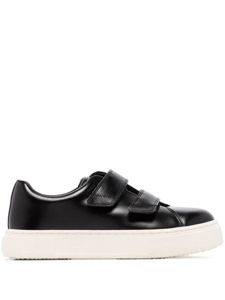 Sneakersy z logo czarne Eytys