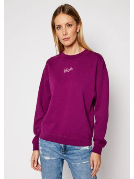 Fioletowy bluzka zabytkowe Wrangler