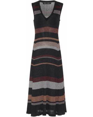 Платье миди в полоску вязаное Proenza Schouler