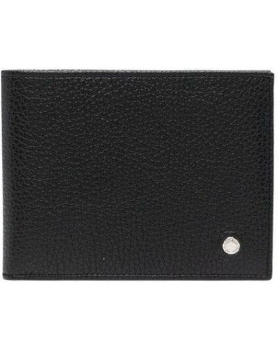 Czarny portfel Orciani