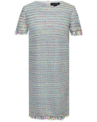 Шелковое платье с подкладкой St. John