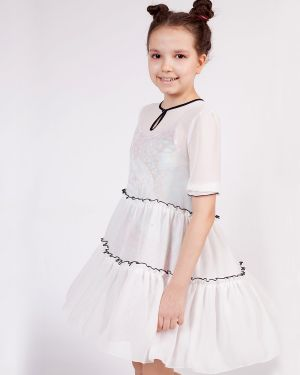 Повседневное с рукавами летнее платье Nota Bene