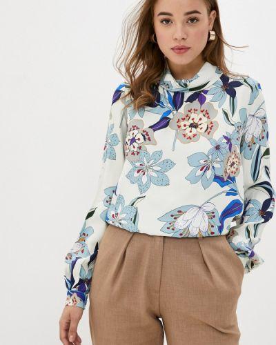 С рукавами бежевая блузка Y.o.u.